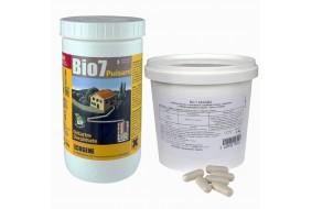 Zestaw Bio7 Tłuszcze 1 kg + Bio 7 Studnie chłonne 800 g