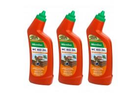 Zestaw Microbec Żel WC 3x 750 ml