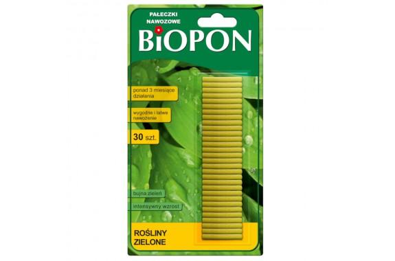 BIOPON pałeczki nawozowe do roślin zielonych