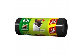 Jan Niezbędny Worki na śmieci Easy Pack czarne 60l zawiązywane 26 szt