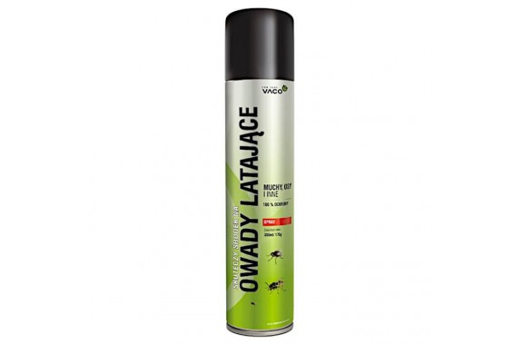 VACO Spray na Owady Latające Muchy Komary 300 ml