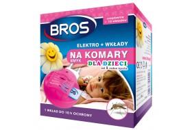 Bros Elektro na komary + 10 wkładów SMYK dla dzieci