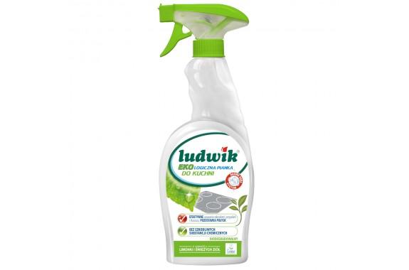 LUDWIK Ekologiczna pianka do czyszczenia kuchni 750 ml