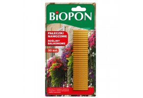 BIOPON pałeczki nawozowe do roślin balkonowych 30