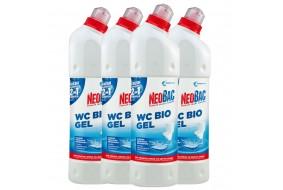 Zestaw NeoBac WC Bio Żel 2w1 4x 750 ml