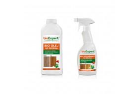 BioExpert Zestaw Bio Rozjaśniacz + Bio Olej do drewna