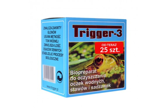 Trigger-3 do oczek 25 szt.