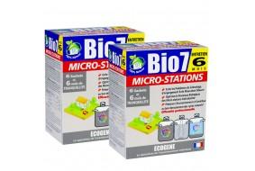 Bio7 Entretien Microstations Bakterie Tlenowe na rok 2x 480g