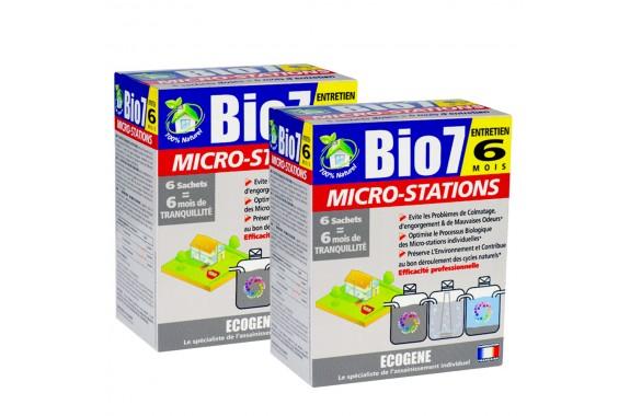 Bio7 Entretien Microstations na rok 2x 480g