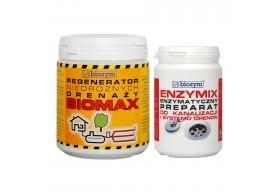BioMax + Enzymix 0,5 kg udrażnianie drenażu i kanalizacji