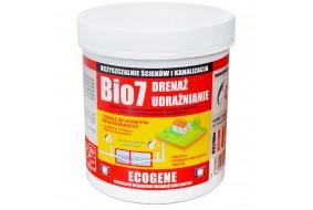 Bio7 Drenaż udrażnianie 4x 200g Zatory Tłuszcz Blokada Zapachów Nowość