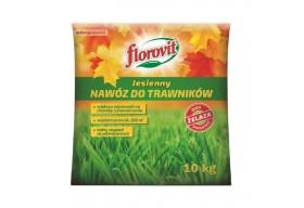 FLOROVIT Jesienny Nawóz do Trawników z Żelazem Granulat Worek 10 kg