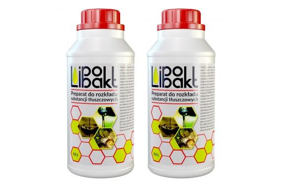 Lipobakt 1000 ml Odtłuszczanie Oczyszczalni (2x 500 ml)