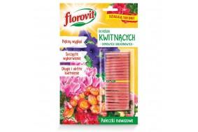 FLOROVIT Pałeczki nawozowe do roślin kwitnących Silny Wzrost 20 szt.