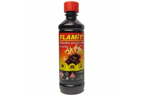 FLAMIT Podpałka parafinowa do grilla kominka 500 ml