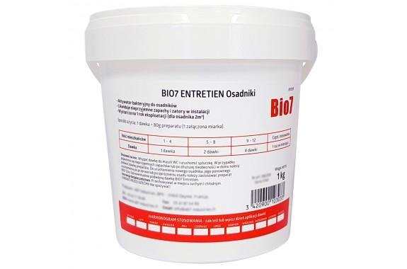 Bio7 Entretien 1 kg harmonogram dawkowania