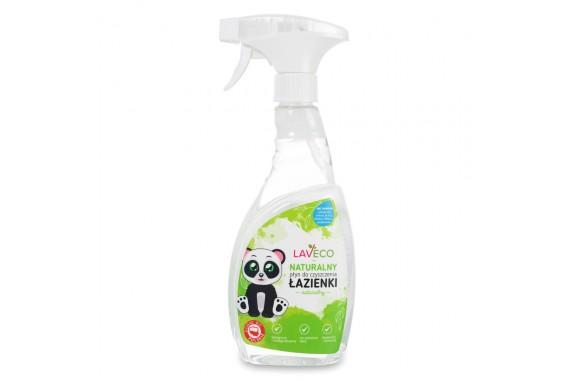 LAVECO Naturalny płyn do czyszczenia łazienki bezzapachowy 500 ml