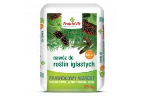 FruktoVit PLUS Nawóz do roślin iglastych iglaków i krzewów 25 kg