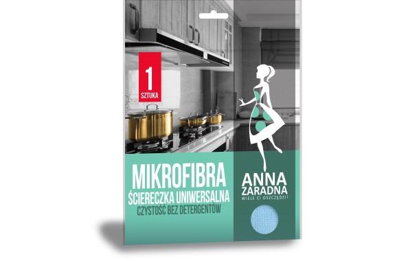 Anna Zaradna Mikrofibra ściereczka uniwersalna 1 szt.