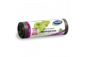 Stella Worki na śmieci Ekologiczne LDPE 120L 10 szt.