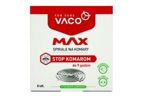 VACO Spirale na komary MAX do 9 godzin 6 szt.