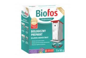 BIOFOS Biologiczny preparat do latryn i toalet 50 g 5 saszetek