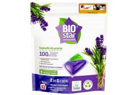 BIOstar Natural Kapsułki do prania 2w1 Lawenda 32 szt.