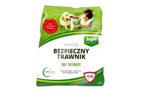 TARGET Nawóz do trawnika BEZPIECZNY TRAWNIK 10 kg