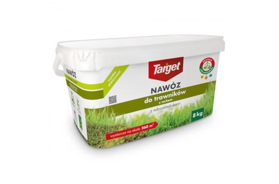 TARGET Nawóz do Trawnika z Mchem mikroelementy 8 kg