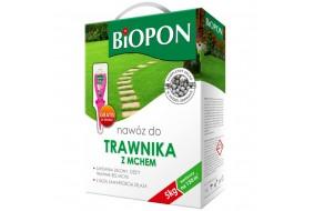Biopon nawóz do trawnika z mchem 5 kg