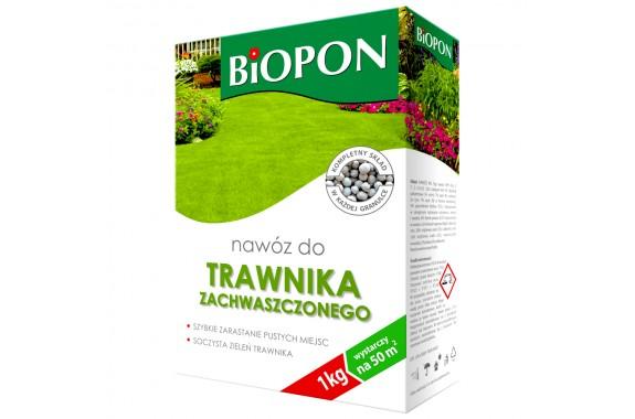Biopon nawóz do trawnika zachwaszczonego 1 kg