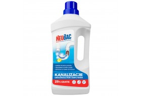 NeoBac Kanalizacje Udrażniacz Rur i Odpływów 1L