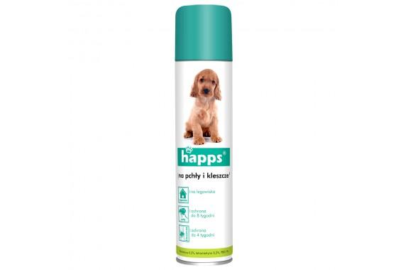 HAPPS Aerozol na pchły i kleszcze dla psów 250 ml