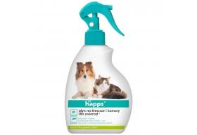 HAPPS Płyn na kleszcze i komary dla psów kotów 200ml