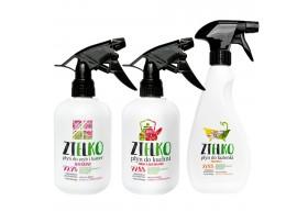 Zielko Zestaw ekologicznych środków do czyszczenia kuchni, łazienki, luster