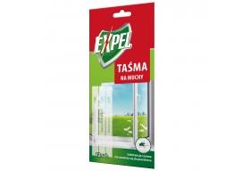 Expel Taśma na Muchy Paski na okno odstraszające owady 12 szt.
