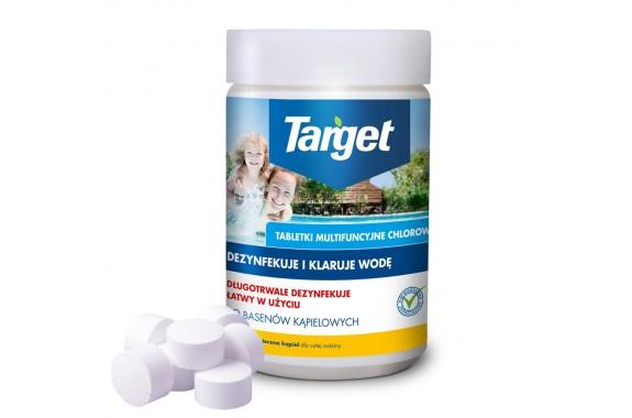 TARGET MULTICHLOR Tabletki multifunkcyjne z chlorem 1kg 50 szt.