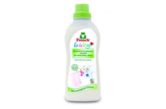 FROSCH Baby Płyn do płukania ubranek dla niemowląt i dzieci
