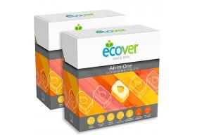 Ecover Tabletki do zmywarki All-in-one EKO 50 szt.
