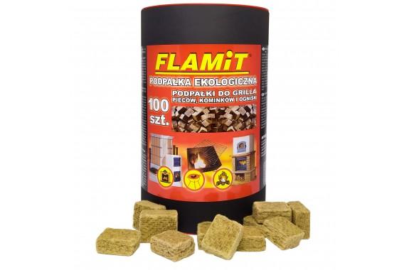 Podpałka ekologiczna FLAMiT Tuba 100 kostek