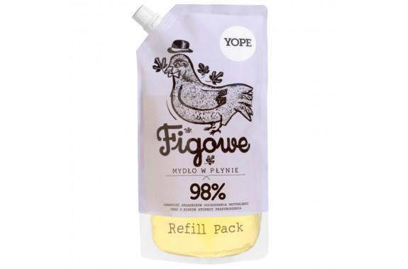 YOPE Zapas mydła w płynie Figa Refill 500 ml