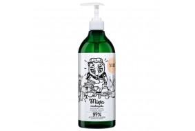 YOPE Naturalny Płyn do zmywania mięta mandarynka 750 ml