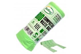 BioBag Worki na odpady organiczne biodegradowalne 10L 20 szt.