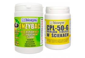 Enzybac do eko szamb 1kg + Bio Odtłuszczacz CPL 0,5kg