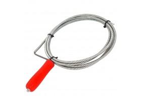 Spirala do udrażniania kanalizacji RUR ocynk fi 5 mm 2 m