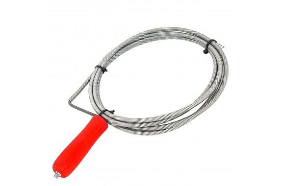 Spirala do udrażniania kanalizacji RUR ocynk o 5mm 2m