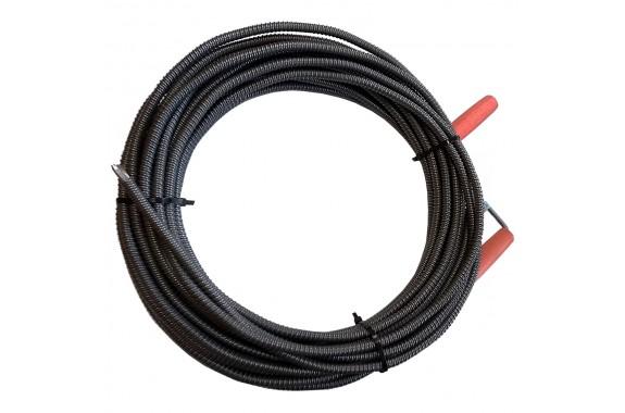 Spirala kanalizacyjna do rur żmijka 15 m fi 10 mm
