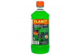 Podpałka płynna do kominka grilla zagęszczona BIO FLAMiT 980 ml