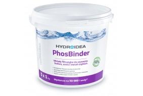 Hydroidea PhosBinder wkłady filtracyjne wiązanie fosforu metali 3x1kg
