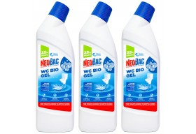 NeoBac WC Bio Gel Zestaw 2+1 - 3x1000 ml